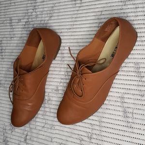 Oxford Lace up Brown Shoe Size 11